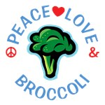 Peace Love Broccoli Shirts