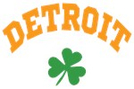 Detroit Shamrock Shirts
