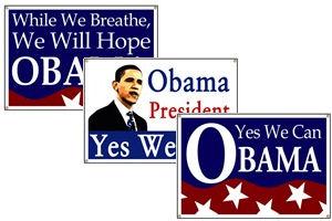 President Barack Obama Banners