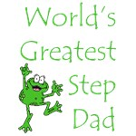 World's Greatest Stepdad Frog T-Shirts & Gifts