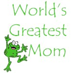 World's Greatest Mom Frog T-Shirts & Gifts