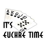 It's Euchre Time T-Shirts & Gifts
