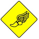 Track And Field Crossing