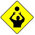 Volleyball Set Crossing