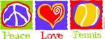 Peace Love Tennis