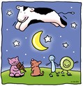 cow jumping over<br>the moon