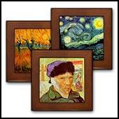 Van Gogh Framed Tiles