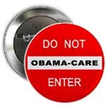 Anti Obama Care Buttons and Gear