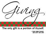 Giving - Christmas Check