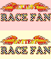 Hottest Racing Fan