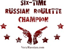 Six-time Russian Roulette Champion