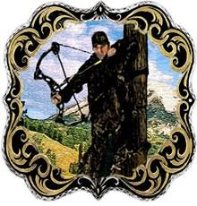 bow hunting logo