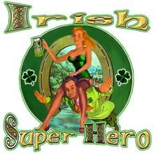 the Irish super hero is the perfect St Patrick's D