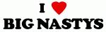 I Love BIG NASTYS