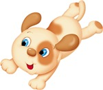 Leaping Puppy