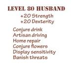 Level 80 Husband