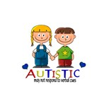 Autistic~may not respond to verbal cues