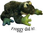 Froggy did it!