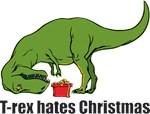 T-rex hates Christmas