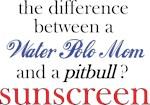 WaterPolo Mom/Pitbull
