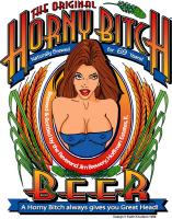 Horny Bitch Beer Tee Shirts