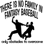 No Family in Fantasy Baseball