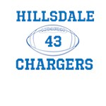 Hillsdale Player Number Apparel