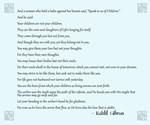 Kahlil Gibran Parenting Quote