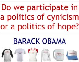 Barack Obama Quote: Politics of Hope