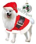 Samoyed Santa Paws