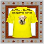YELLOW LAB T-SHIRT AS SEEN IN THE HANGOVER 2