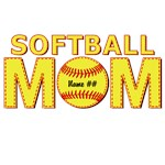 Personalized Softball Mom