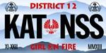 KATNISS GIRL ON FIRE LP