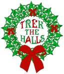Trek the Halls Xmas Wreath