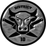 District 10 Silver Carve