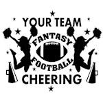 Fantasy Football Cheering Personalized