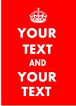 YOUR TEXT AND YOUR TEXT
