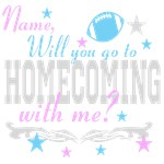 HOMECOMING DANCE DATE PERSONALIZED!