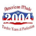 American Made 2004 12th Birthday Patriotic