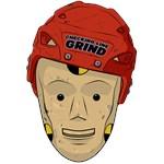 Hockey crash test dummy
