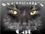 Famous Cats - Svengali's Cat