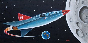X-7 MOON ROCKET