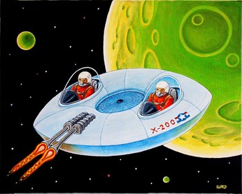 X-200 FLYING SAUCER