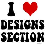 I Heart (Love) Designs Section