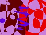 Purple Pink Background Free Lines and Forms Abstra