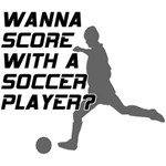 Score With A Soccer Player