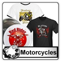 Motorcycles and Bikes t-shirts