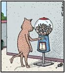 Mice Gumball machine