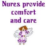 Nurses Provide Comfort and Care