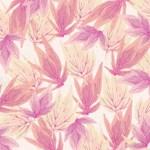 Watercolor Floral Leaf Pattern